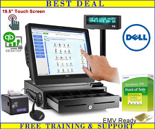 NEW Dell Touch Screen Point of Sale System with QuickBooks POS Pro 12.0 Desktop