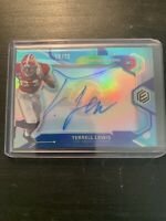 2020 Elements Football Terrell Lewis Auto 19/75 LA RAMS