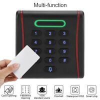Wiegand26 Password Card Reader 13.56Mhz IC Card Keypad Door Access Control Syste
