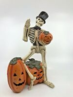 BETHANY LOWE DESIGNS: HALLOWEEN; WAVING SKELETON; TD7624