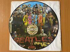 The Beatles Sergeant Pepper Picture Disc LP VG+