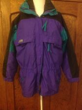 COLUMBIA Gizzmo 3-in- 1 Coat Jacket Purple Teal Black Small S Womens Winter Snow