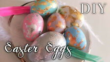 5 Colors Pearl Dye + Silver foil Shine Paint  Decorating Painting EASTER EGG