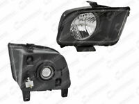 MUSTANG 2007 - 2009 HEADLIGHT FRONT LAMP W/O BULBS CAP RIGHT FOR FORD MUSTANG