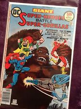 Giant Super-Heroes Battle Super-Gorillas #1, DC #31645, ungraded comic book