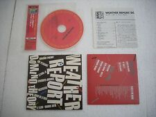 WEATHER REPORT / DOMINO THEORY  - JAPAN CD MINI LP opened