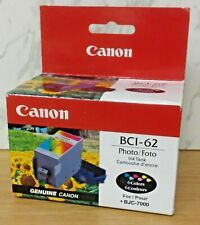 Genuine Canon BCI-62 6 Color Photo Ink Tank for BJC-7000
