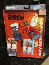 New Mary-Kate & Ashley Olsen Holiday Sun Barbie Mattel Doll Clothes Accessories