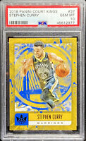 Stephen Curry 2018-19 Panini Court Kings #37 Golden State Warriors PSA 10 POP 1