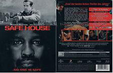 SAFE HOUSE --- Blu-ray --- Limited Steelbook --- Denzel Washington ---