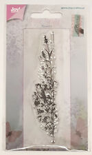 "Joy!Crafts Clear Stamp ""Blume mit Vogel"" Randmotiv transparent"