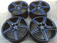 "20"" NEW BLACK S65 S63 CL65 CL S500 S550 S600 S430 CL500 OEM MERCEDES AMG WHEELS."