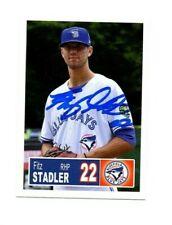 Fitz Stadler 2018 Bluefield Blue Jays auto signed team rookie card Seneca SC
