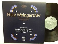 Beethoven - Symphony No. 8 & 9, 2 LPs, Felix Weingartner, EMI Angel, Jp, mint