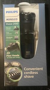 NEW Philips Norelco Shaver 2100 Dry Electric Rotation  Shaver