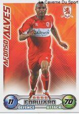 AFONSO ALVES # BRAZIL MIDDLESBROUGH.FC MALMO.FF CARD PREMIER LEAGUE 2009 TOPPS
