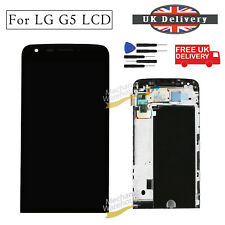 """For LG G5 LCD Display Digitizer Touch Screen + Frame H850 5.3"""" Replacement Black"""