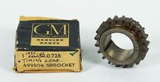 1937-1946 Pontiac Crank Shaft Timing Gear Sprocket P/N 499604 Gr. 0.728 NOS