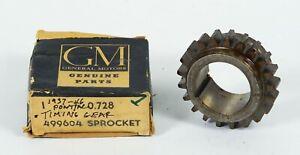 1937-1946 Pontiac Crank Shaft Timing Gear Sprocket P/N 499604 Gr. 0.728 NOS
