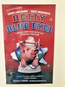 Betty Blue Eyes Theatre Poster