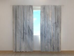 Window Curtain Printed with Marble Pattern Wellmira Made to Measure