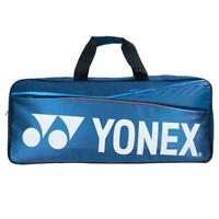 Yonex Team Tournament Tennis/ Badminton Bag For Gear And Racquets In Blue