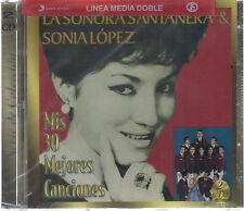 CD Sonia Lopez & La Sonora Santanera NEW Mis 30 Mejores Canciones FAST SHIPPING!