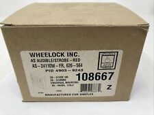 Wheelock Audible Strobe As 24110w Fire Protective