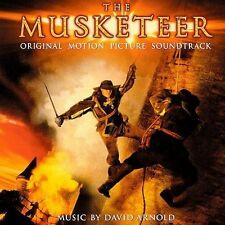 1 CENT CD The Musketeer SOUNDTRACK David Arnold