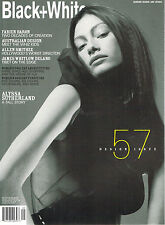Not Only BLACK+WHITE #57 ALYSSA SUTHERLAND Fabien Baron JAMES WHITLOW DELANO New