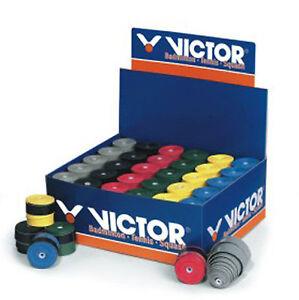 6 Victor Pro Griffbänder - Tennis, Squash, mit 6 Farben