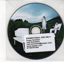 (DV617) Love Echo, I Promise You / Always The Sky - DJ CD