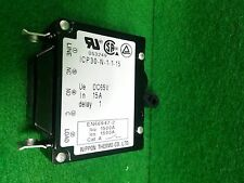 NIPPON THERMO ICP30-N-1-1-5 Circuit protector, 15A, USED