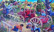 .PUZZLE.....JIGSAW.....ANTONISHAK......Country Playmates....300pc..