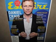 NEW! ESQUIRE UK EDITION 09 September 2011 DANIEL CRAIG
