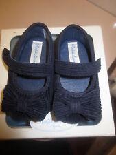 Polo Ralph Lauren Navy Blue corduroy mary jane crib shoe size 2 (Eu 17) !!!