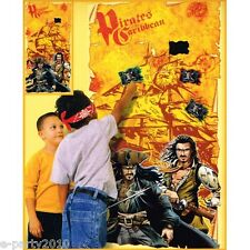 PIRATES of the CARIBBEAN PARTY GAME POSTER ~ Birthday Supplies Room Decorations