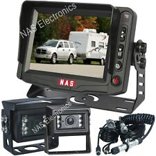 """Caravan/Trailer Reversing Camera Kit 5"""" Monitor With Heavy Duty Trailer Cable"""