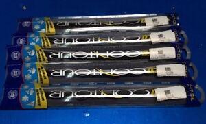 Lot Of 5, Anco C17OE Flat Wiper Blade