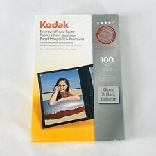 Kodak Premium Photo Paper 4 x 6 100 Sheets Gloss All In One Printers New Sealed