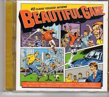 (EV328) Beautiful Game, 40 Classic Anthems - 2002 double CD