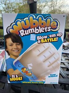 Wubble Rumblers Inflatable Karate Chop with Pump