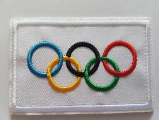 The Olympic Games RIngs Flag Iron On Patch Sew On Transfer Badge High Quality