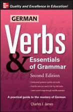 German Verbs & Essential of Grammar, Second Edition Verbs and Essentials of Gra