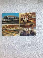 Tip Top Meats European Eatery Postcard Carlsbad CA Multi View Market Old Cars