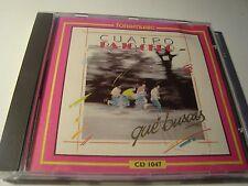 MEGA RAR CD. CUATRO BAJO CERO. QUÉ BUSCAS. 1989.  MADE IN SPAIN.