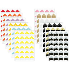 Wrapables Self Adhesive Photo Corners for Scrapbooking Stationery Diary & Album