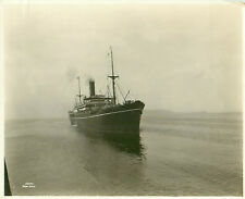 SS Fushimi Maru N.Y.K. Line Built 1914 Copyright 1922 Real Photograph Sunk WWII