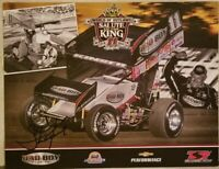 2014 Steve Kinser Signed Handout King of the Outlaws 8.5 x 11 Free Shipping