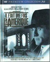 DVD + BLU RAY PREMIUM COLLECTION IL ETAIT UNE FOIS EN AMERIQUE SERGIO LEONE
